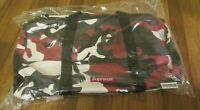 Supreme Duffle Bag Red Camo SS21 Supreme New York 2021 Brand New SS21B10 New DS