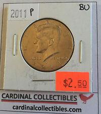 2011 US Kennedy P Half Dollar in Brilliant Uncirculated (BU) Condition