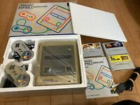Nintendo Super Famicom Console with BOX and Instruction, 3 Games