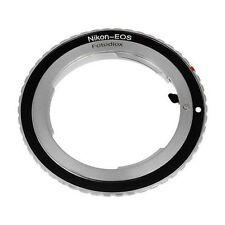 Fotodiox objetivamente adaptador Nikon lente para Canon EOS cámara