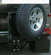 Genuine Land Rover Defender Wolf Soft Top Mantec Swing Away Spare Wheel Carrier