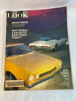 Look Magazine Vintage October 6,1970 U.S. Cars 1971 15th Annual Auto Preview