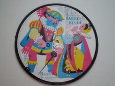 """LA BARBE BLEUE FRANCE PICTURE DISC 7"""" BABYDIS 1960s"""