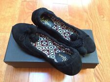 New in Box Women's Cole Haan Black Cheri Slippers size 5.5