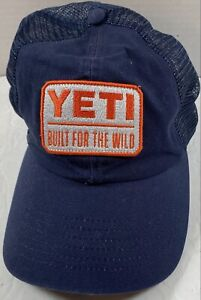YETI Coolers Low Pro Trucker Baseball Hat Cap Blue