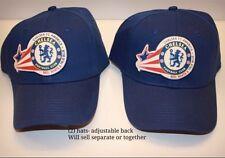 Official Chelsea Football Club America Soccer Baseball Hat Red White Blue NWOT