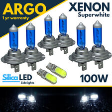 Fits Audi A3 8P Headlight Bulbs Fog Side Light 100w Xenon White Upgrade Lamps