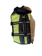 Petco Dog Sz S Lifejacket Yellow & Black Life Jacket Safety Vest