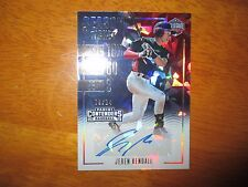 JEREN KENDALL 2016 Panini Elite USA Contenders Cracked Ice Autograph #9/24