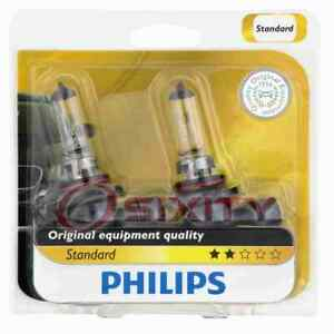 Philips Front Fog Light Bulb for Acura MDX TL 2001-2006 Electrical Lighting fp