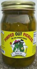 Pimped Out Pickles - 1 (Sweet Hot) 16oz Jar (Unlimited Supply In Stock)