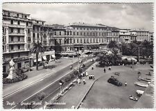 GENOVA CITTÀ 522 PEGLI - CINEMA IMPERIALE Cartolina FOTOGRAFICA VIAGGIATA 1957