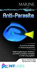 NT Labs Marine Anti Parasite 100ml Treatment Coral Sump Fish Aquarium