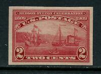 SCOTT 373 1909 2 CENT HUDSON FULTON ISSUE MNH OG VF-XF CAT $47!