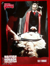 BRITISH HORROR COLLECTION - Lust for a Vampire - SLIT THROAT - Card #66