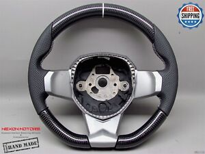 Lamborghini Aventador LP700 LP720 LP750 SVJ 3White Perf Carbon Steering Wheel V1