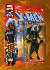 Marvel Legends Vintage Retro Series Black Suit Storm Action Figure Collectible