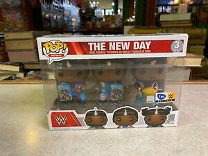 Funko POP! Deluxe WWE BIG E XAVIER WOODS KOFI KINGSTON 3 Pack - FYE ONLY