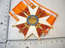 Roter Adlerorden mit Schwertern OEK 1615 am Band