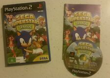 SEGA Superstars Tennis (Sony PlayStation 2, 2008) Complete - Fast Free Post!