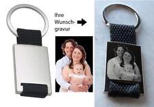 Schlüsselanhänger glänzend Foto Gravur Fotogravur Geschenk ❤Geburtstag Muttertag
