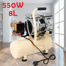 EU 8L Air Compressor Oil Free Piston Compressor Whisper Quiet Silent 550W 57dB