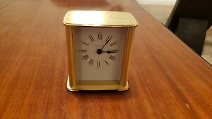 Tiffany & Co. Brass Clock.