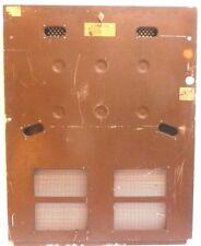 """SEEBURG TRASHCAN ML147:  METAL BACK DOOR w/ LOCK & 2 KEYS  30 & 1/4"""" x 38 & 3/4"""""""