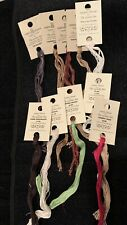 Sampler Threads From The Gentle Arts 10 Skeins Cross Stitch Floss New Old Stock