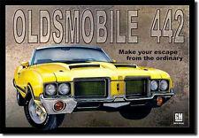 Oldsmobile 442 Panel Abolladuras Muscle Car Panel Abolladuras Publicidad 300