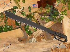 "OKC military grade machete/Sword/Full tang/1075 Carbon steel/MADE IN U.S.A/28""OA"