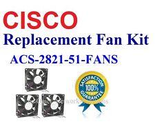 New Cisco 2821 2851 Fan Kit, 3x Fans ACS-2821-51-FANS Satisfaction