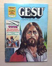ALBUM DI FIGURINE ED. APRILE / MONDADORI - GLI ALBI D'ORO - GESU' 1977 -COMPLETO