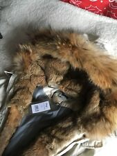 Fur Jacket Racoon And Rabbit Size:L New
