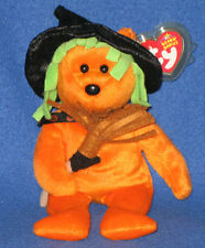 TY SPELLS the HALLOWEEN BEAR - TY STORE EXCLUSIVE - MINT with MINT TAGS