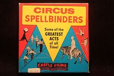 Circus Spellbinders 8MM Film 200' 1960's Greatest Acts Of All Time NICE