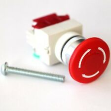 E-Stop (Emergency Stop) Button - 120v-10A/240v-6A