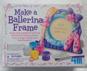 Make a Ballerina Photo Frame by Great Gizmos 4M