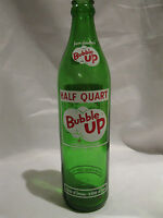 Bubble Up Pure Pleasure Half Quart 16 Oz. Soda Bottle