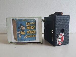 HOUGHTON BUTCHER Ensign Mickey Mouse Box Camera c.1935