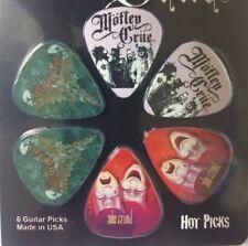Hot Picks Motley Crue Guitar Picks Plectrum Pack - 6 Picks with various Designs