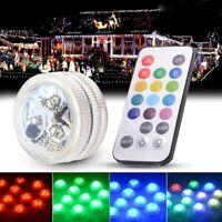 Lumières Submersibles LED Imperméable à Piles sous Eau Lampe de Mariage Vase