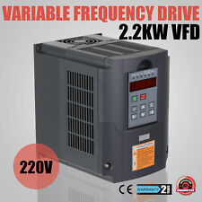 2.2KW 3HP VFD VARIATEUR DE FRéQUENCE COMPETELY SOUNDL 220-250V SOLUTIONS GREAT