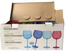 New listing CreativeWare Wine Glasses