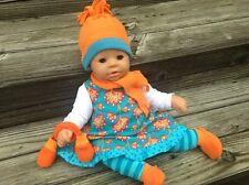Kleidung Winter 7-tlg. für Puppen Gr. 46-48 Annabell Chou Cookie Lolle Bambina