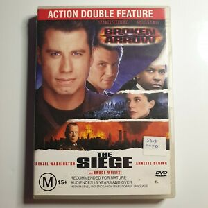 The Siege & Broken Arrow | DVD Double Feature | Denzel Washington, Bruce Willis