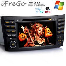 Autoradio DVD Player GPS Navigation Touchscreen Für Benz E Klasse W211 CLS W219