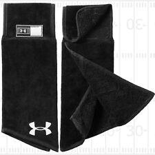 Under Armour Skill Football Towel, Black Item 1304700 New Free Shipping