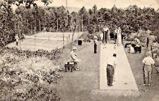 Tennis & Shuffleboard at Mountain View Lodge in Mill Rift PA OLD