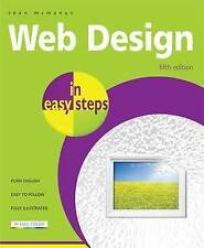 Web Design In Easy Steps 5th Edition, McManus, Sean, Very Good condition, Book